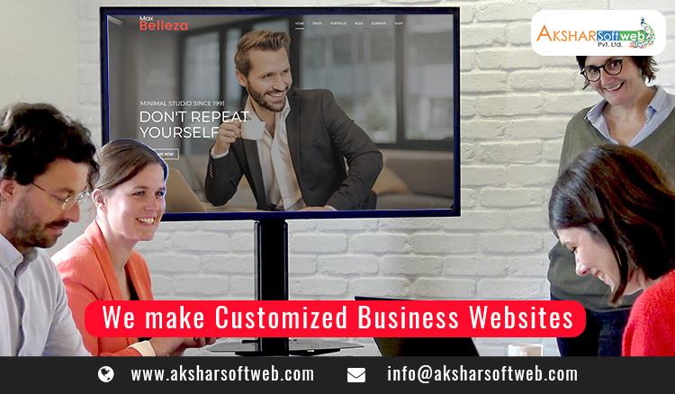 We Make Customised Business Website Design