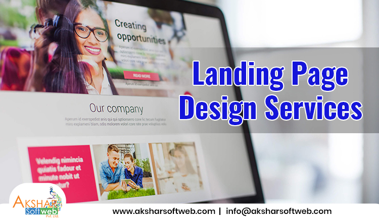 Landing Page Website Design Services